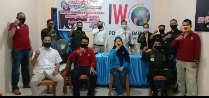 PD IWO Soppeng Gelar Diskusi Internal, Pemateri Kasat Reskrim Polres Soppeng