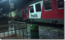Treno Thello bloccato sui Giovi