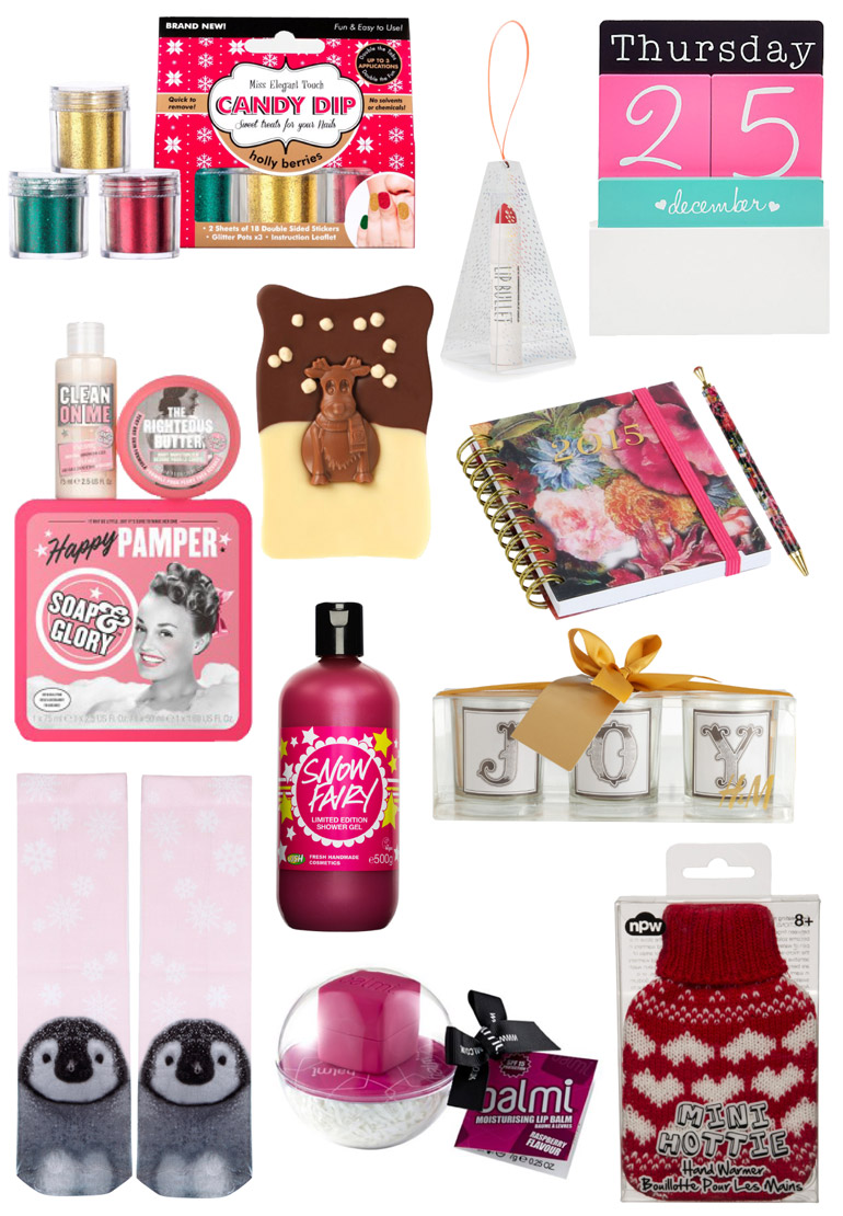 stocking fillers from the high street from under £5