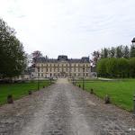 Château de Nointel : façade sud sur l'avenue de Verdun