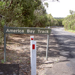 America Bay Track sign (30407)