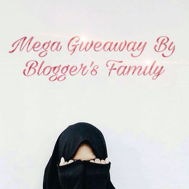Mega Giveaway By Blogger's Family 2016