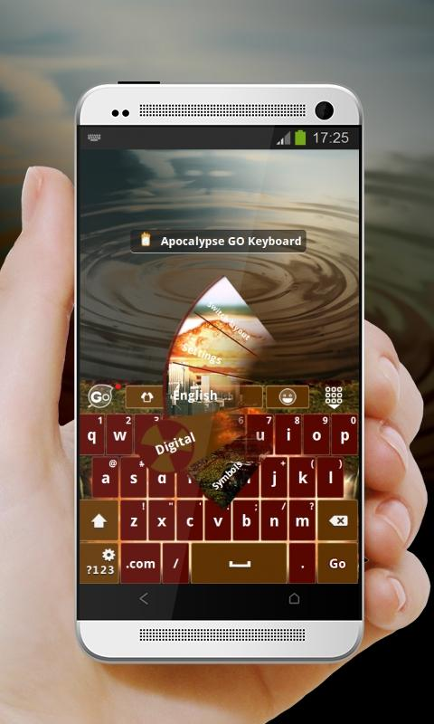 Apocalypse GO Keyboard - screenshot