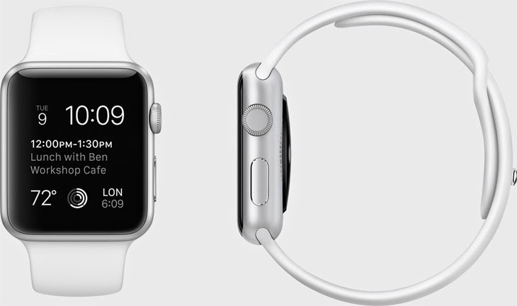 Apple Watch Sport_white