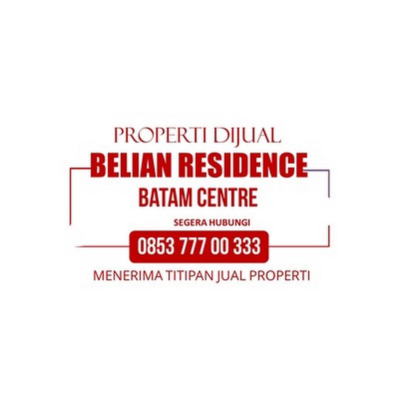 BELIAN RESIDENCE | Dijual Disewakan Rumah | Perumahan Hunian Baru di Batam Centre, Batam