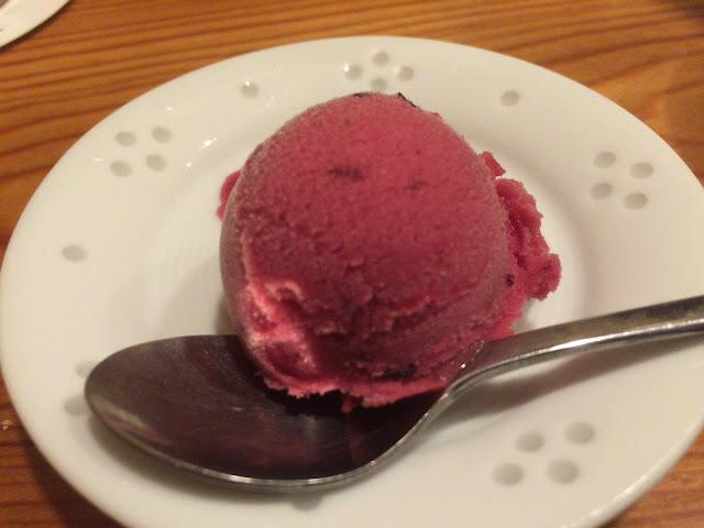 水天宮前駅 備長炭焼 焼き鳥 一久(いきゅう)デザートアイス