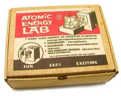 Radioaktyvus žaidimas vaikams