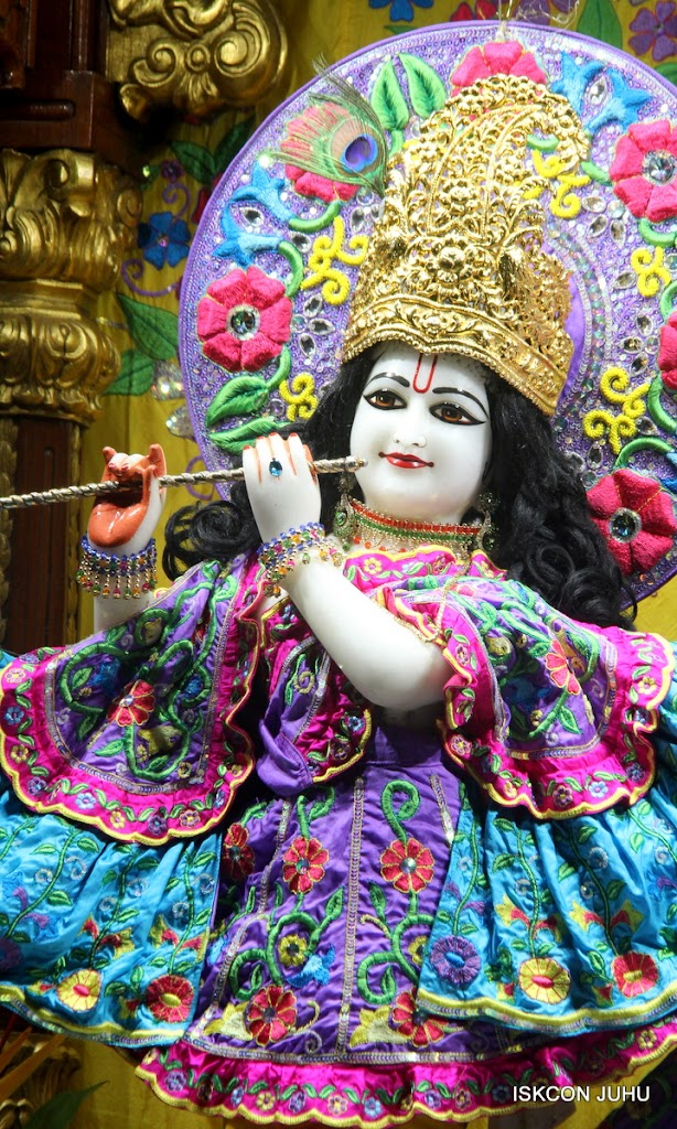 ISKCON Juhu Mangal Deity Darshan on 10th July 2016 (17)