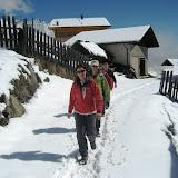 Wandern - Meraner Höhenweg im April