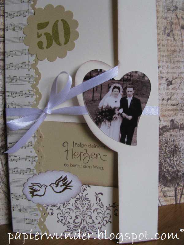 papierwunder goldene hochzeit golden wedding. Black Bedroom Furniture Sets. Home Design Ideas