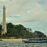 Dopływamy do Palau Lengkuas.