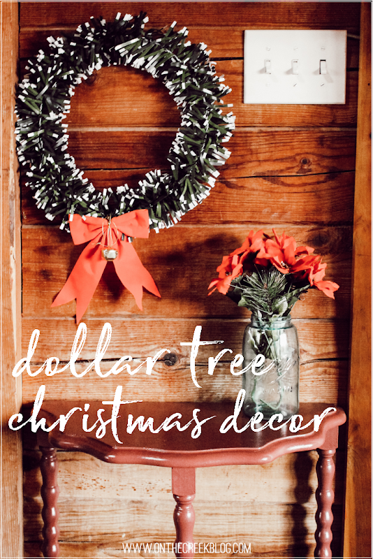 Cute & cheap Christmas decorations found at the Dollar Tree!