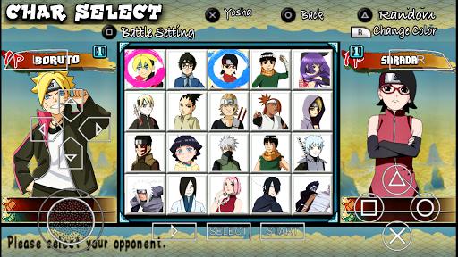 SAIU ! Novo Naruto Ultimate NINJA Heroes (MOD) Boruto Next Generations Para ANDROID/PPSSPP