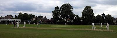 Bosham bowling against Horley