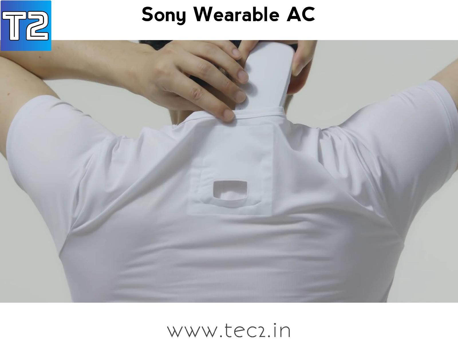 Sony Wearable AC V Neck inner