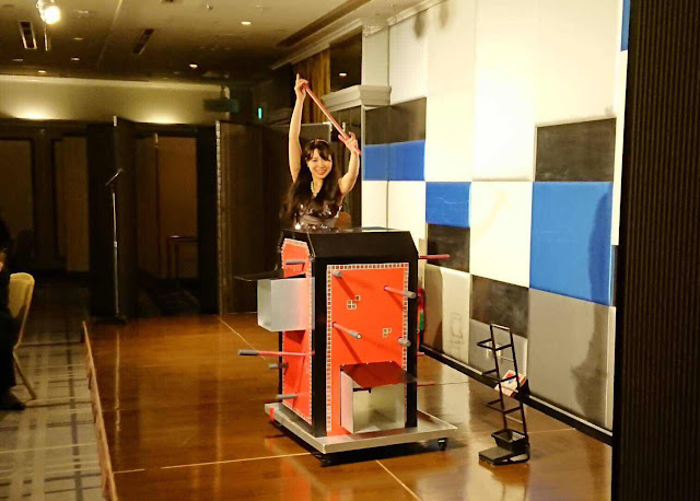 ニューオータニ|女性マジシャン・アリス(有栖川 萌)|☆マジックショー・イリュージョン・手妻・和妻の出張・出演依頼受付中☆
