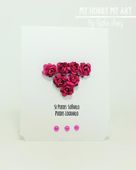 Latina Crafter, Latinas Arts and Craft, Blog Hop de Primavera, Ruthie Lopez 9