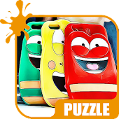 Jigsaw Puzzle For Larva