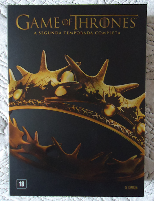 It's Collector | CDs, DVDs, Livros, Revistas e muito mais!: BOX: Game of Thrones - 2ª Temporada (Brasil)