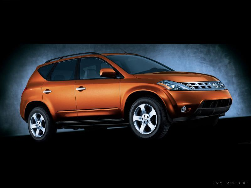 2007 nissan murano suv specifications pictures prices. Black Bedroom Furniture Sets. Home Design Ideas