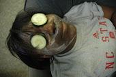 cucumber mud masks