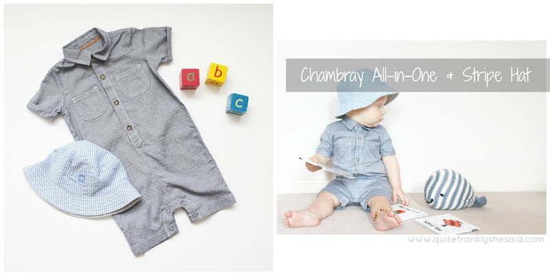 george asda Chambray All-in-One