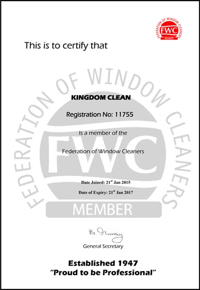 Kingdom-Federation-of-Window-Cleaners-Association-Certificate-2016-2017