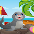 Games4King - Cute Seal Rescue