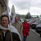 Manifestacja w Rzeszowie 29 kwietnia 2008