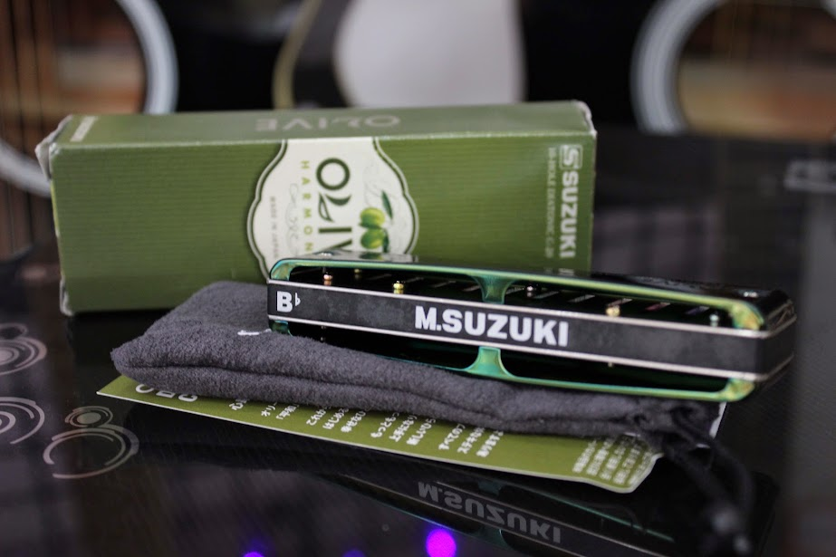 Kèn Harmonica - Suzuki Olive C-20 (key C)