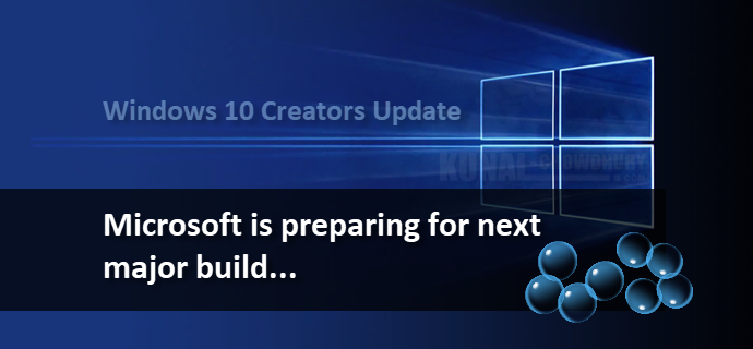 Windows 10 Creators Update is on its way to release in April (www.kunal-chowdhury.com)