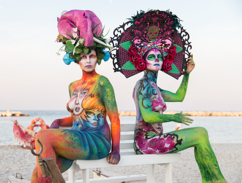 IMG_5122 Color Sea Festival Bodypainting 2018