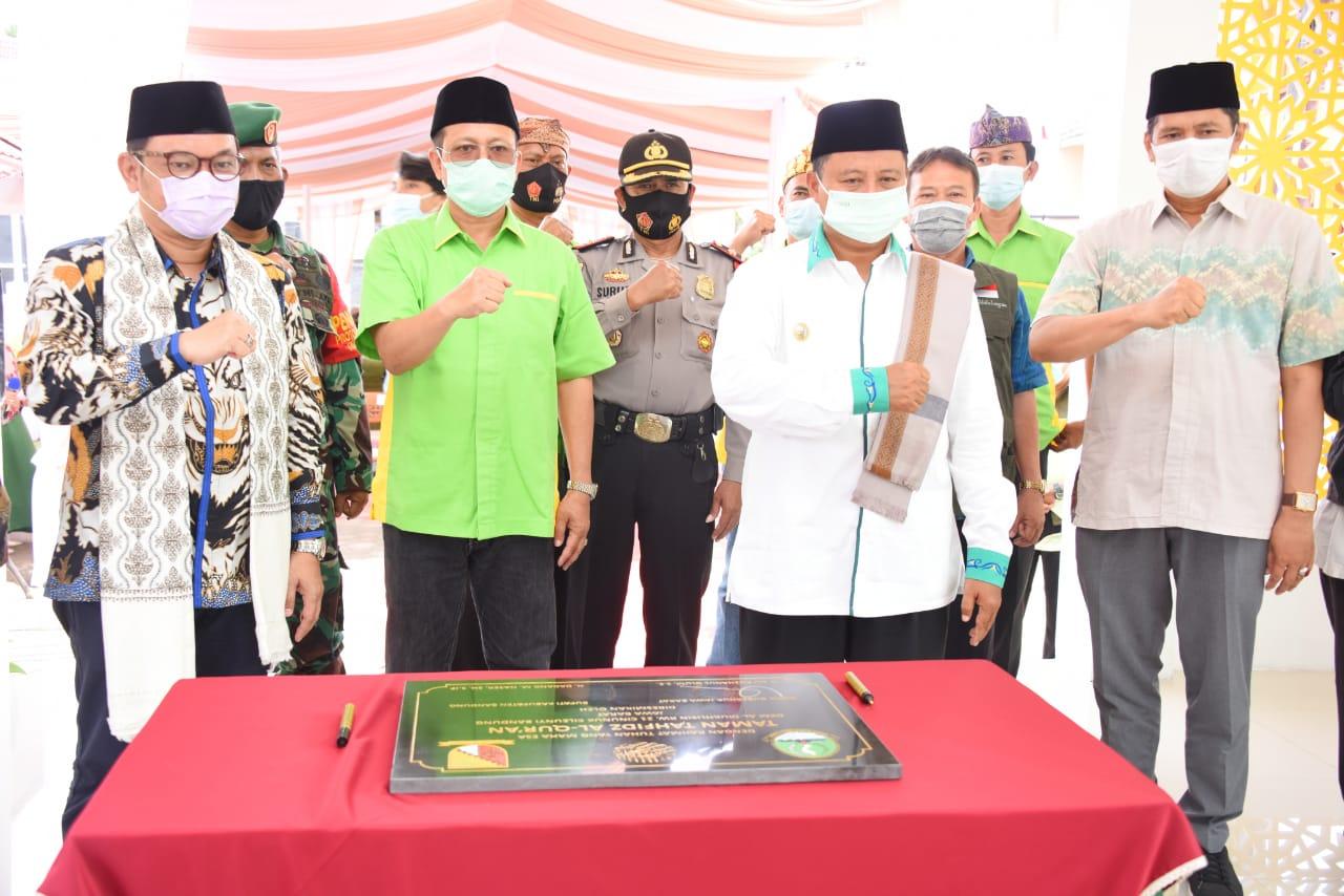 Wagub Jabar Apresiasi Taman Tahfidz Al-Qur'an di Desa Cinunuk Bandung
