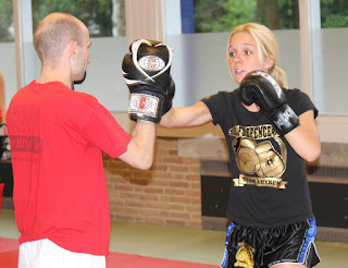 29-05-2015 Kickbox clinic Kim Boot