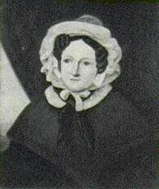 Grandmother Elisabeth Hubetra Vrijdag (1790 - 1875)