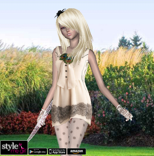 Style Me Girl Level 25 - Sarah - Floral