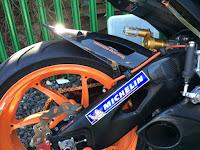Michelin Rear Swingarm decal