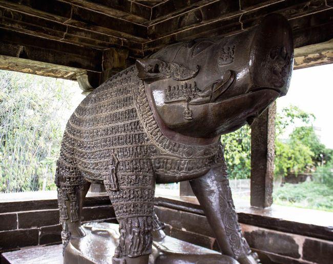 Right Side View of Lord Varaha at Khajuraho