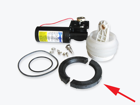 Vacuum Pump Rebuild Parts