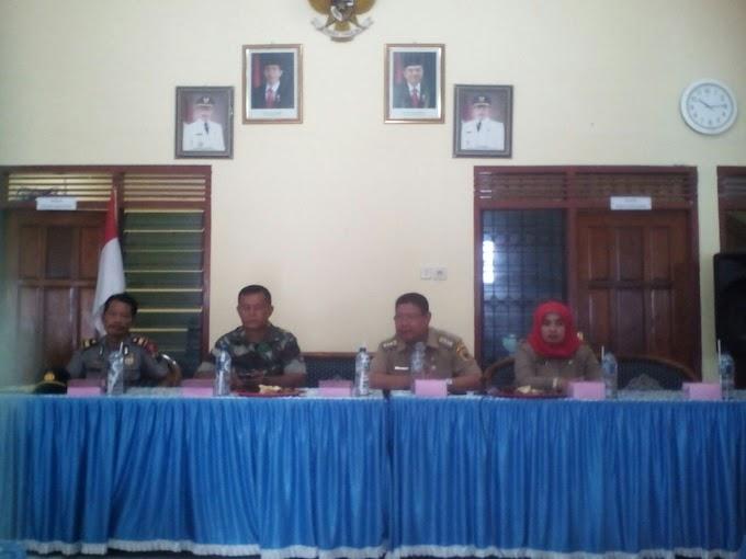 Acara Rakor Kades Sekdes Se-kecamatan Jakenan Pati