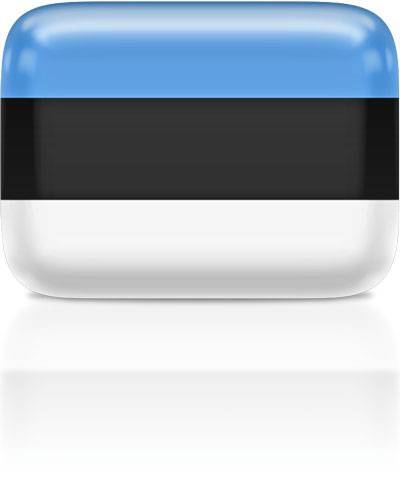 Estonian flag clipart rectangular