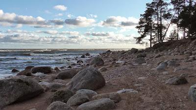 фото камни финского залива