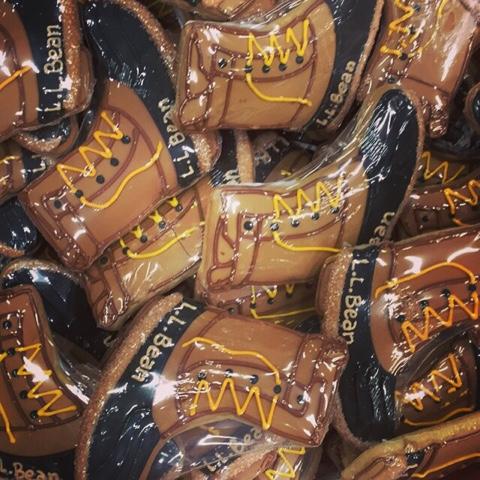 custom cookies, cookie, ll bean, ll bean flagship store, L.L.Bean