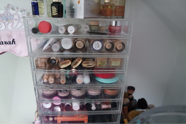Make up collection.