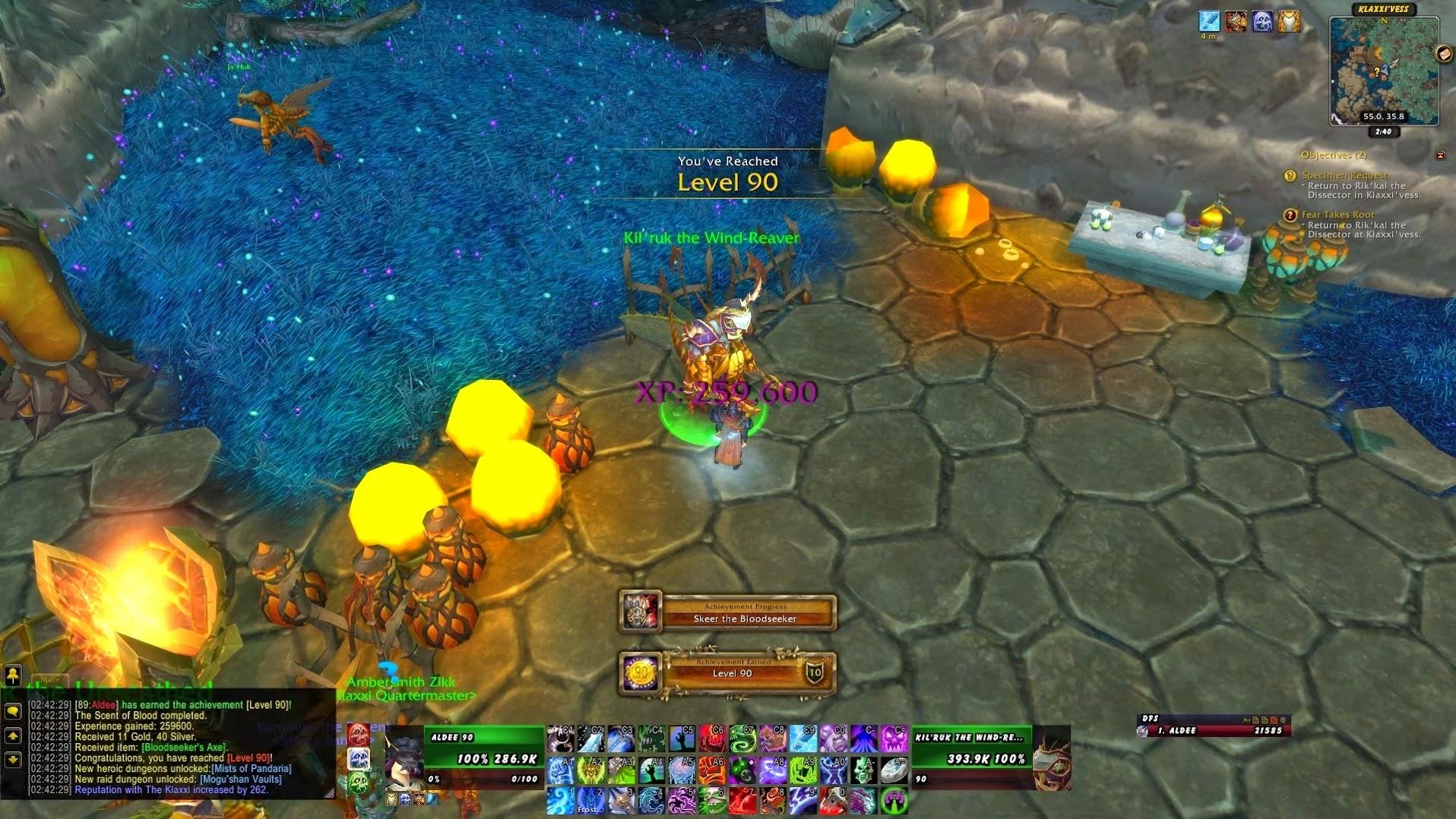 World of Warcraft Level 90 Death Knight