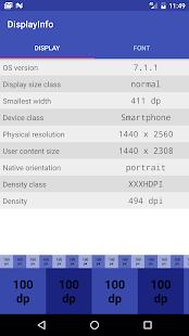 Display Info - náhled