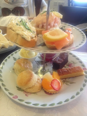 Afternoon tea at the Ash Tea Rooms, Stockport