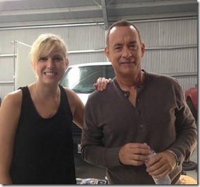 jennifer y Tom Hanks