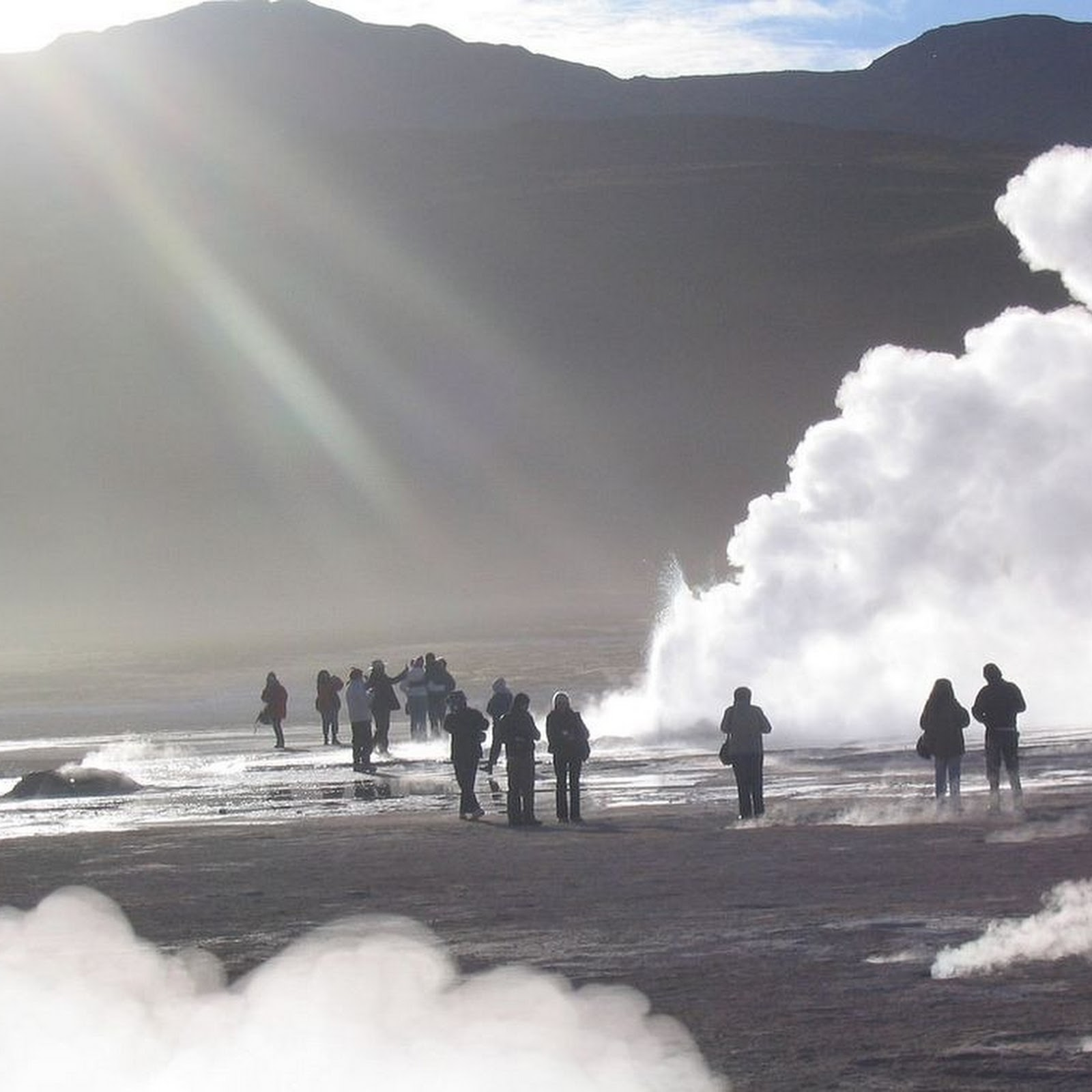 El Tatio Geyser Field - Andes Mountains of northern Chile