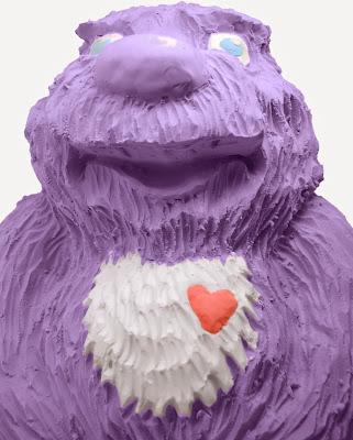 Cát nặn siêu nhẹ màu tím Bubber Petal Purple tươi sáng, mịn màng